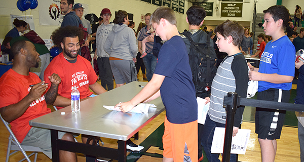PATRIOTS LEND STAR POWER TO BOOSTERS