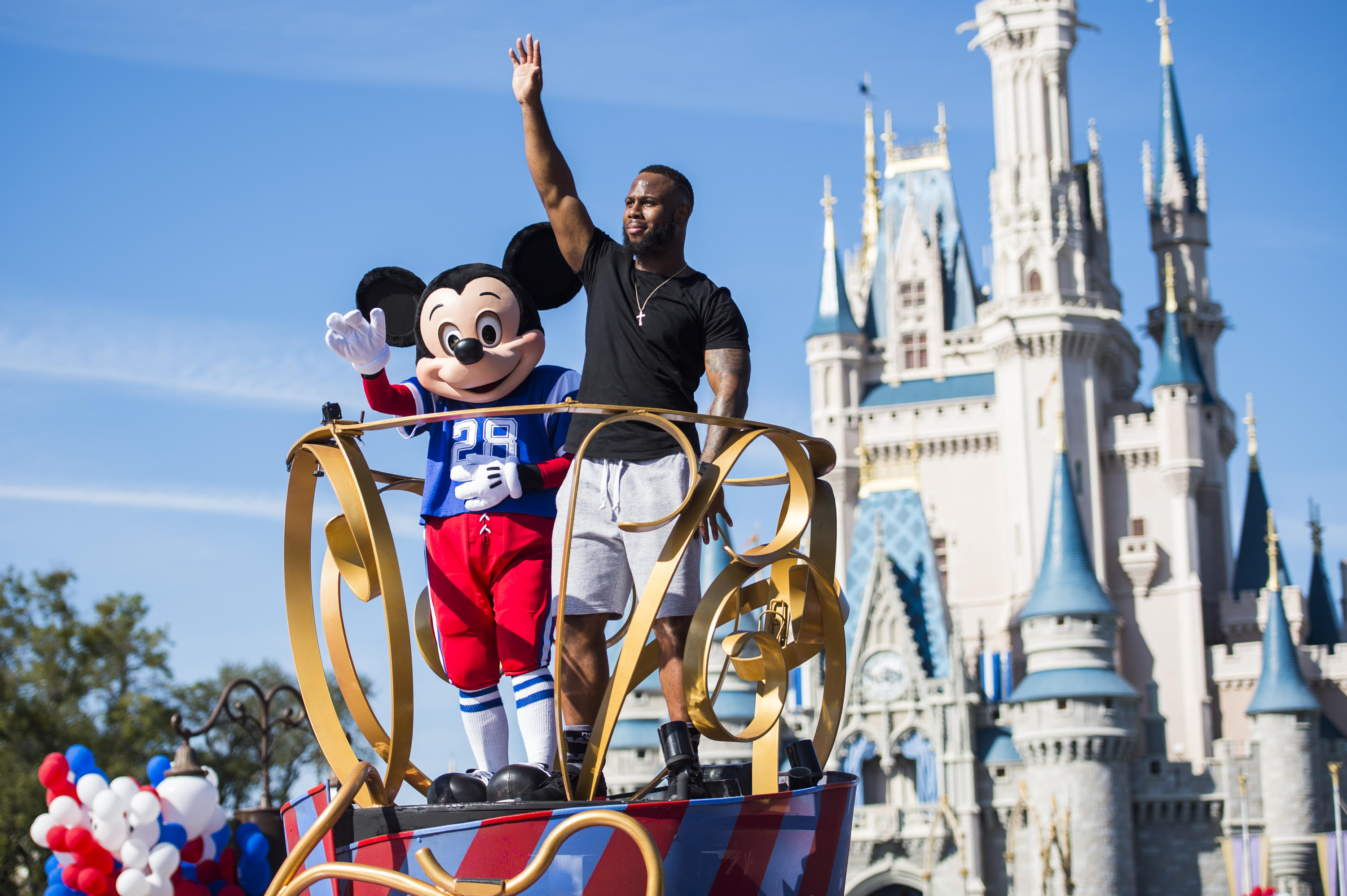 PATRIOTS' JAMES WHITE: HE'S GOING TO DISNEY WORLD
